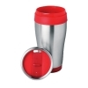 vaso termo de metal 300 ml color disponible: rojo