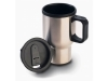 taza termo met�lica color disponible: plata