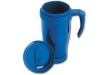 vaso termo pl�stico color disponible: azul