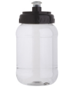 Cilindro Pet 500 ml. Transparente con chup�n