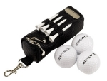 Set estuche de golf portable, color del producto negro